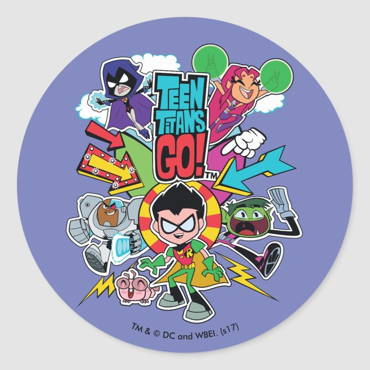 Teen titans go inspired idea for kids birthday party