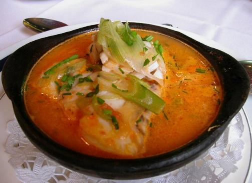 Fisch chilenische kuche