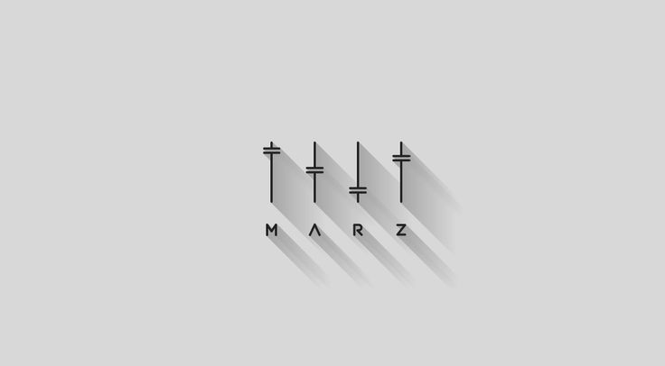 Project of logo for DJ & Producer, M A R Z.