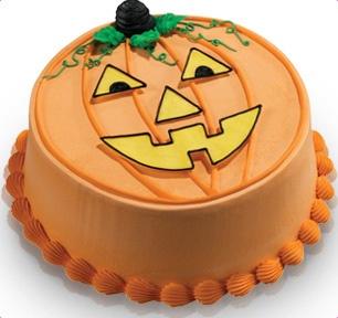 Baskin-Robbins | Pumpkin Face Cake (World Class Chocolate ...