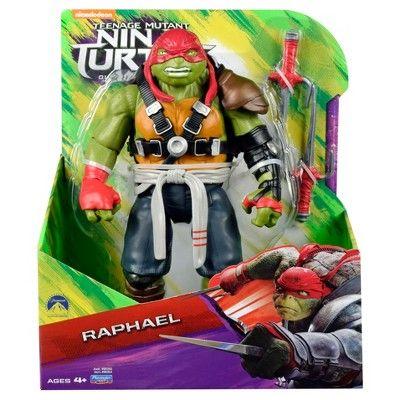 Teenage Mutant Ninja Turtles Movie 2 Raph Action Figure 11, Green