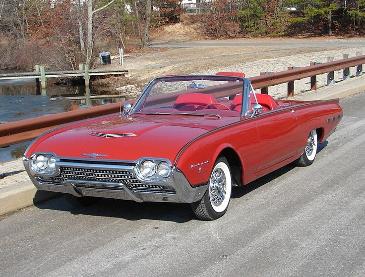 1962 Thunderbird Sports Roadster