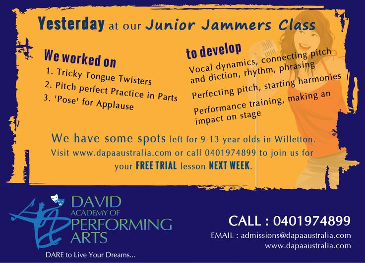 YESTERDAY at our Junior Jammers Class  Visit www.dapaaustralia.com or call 0401974899 to join us for your FREE TRIAL lesson NEXT WEEK.