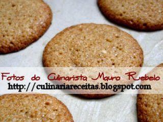 Biscoito de Amaranto - Passo a Passo com Fotos Culinarista Mauro Rebelo