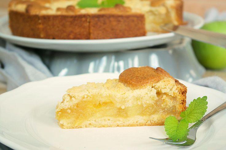 Rezept für Apfelkuchen mit Apfelmus
