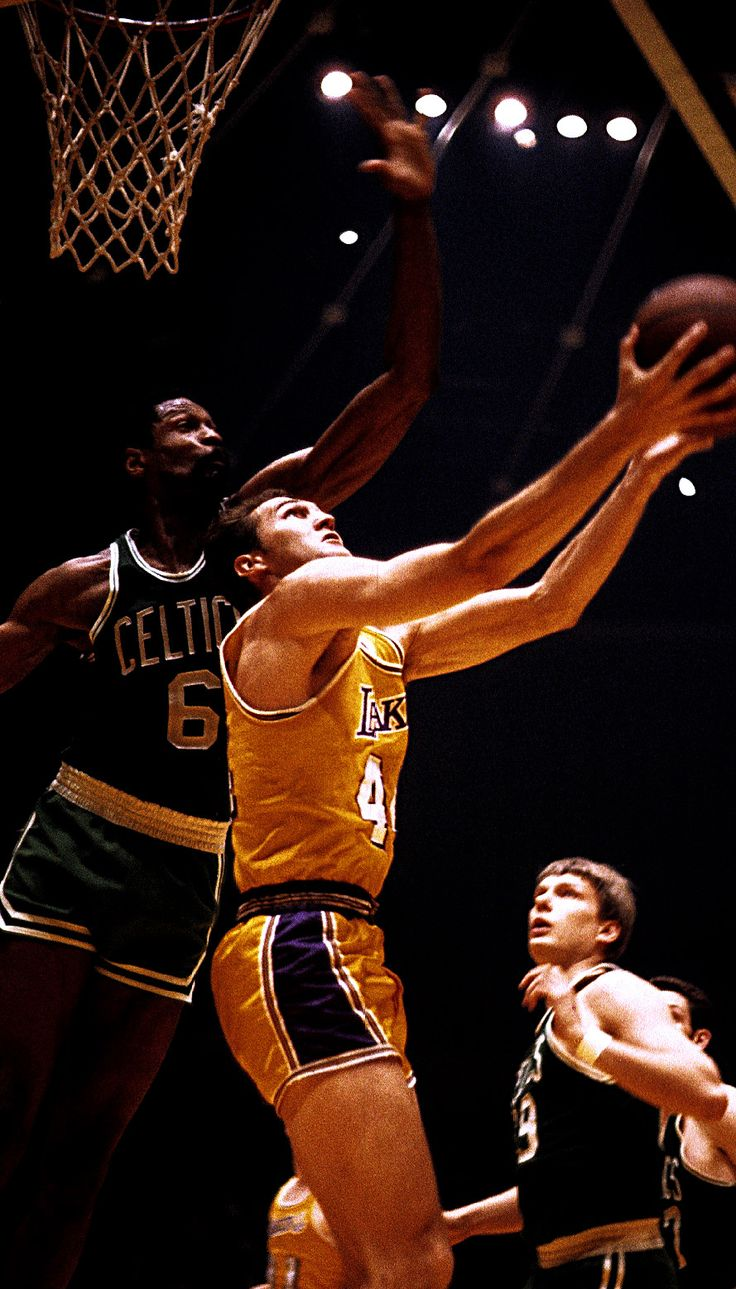 Bill Russell & Jerry West (With images) Sports