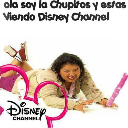 Hola soy la chupitos y estas viendo Disney Channel