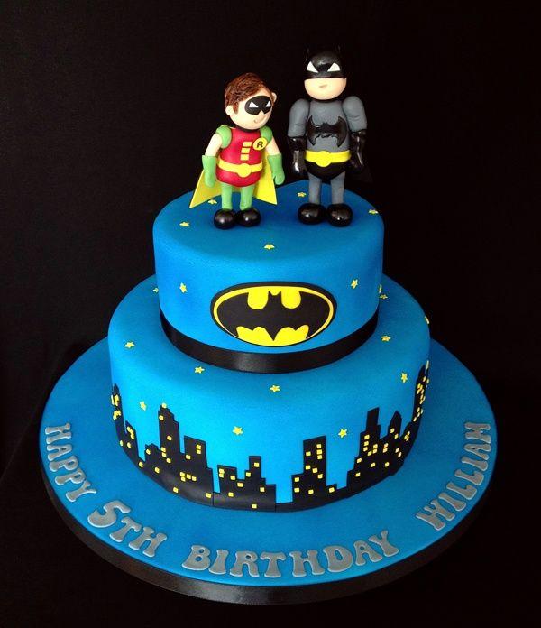 Batman & Robin Cake by Nicola Cooper, via Behance