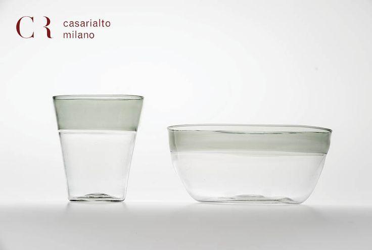 Handmade glasses. www.casarialto.it
