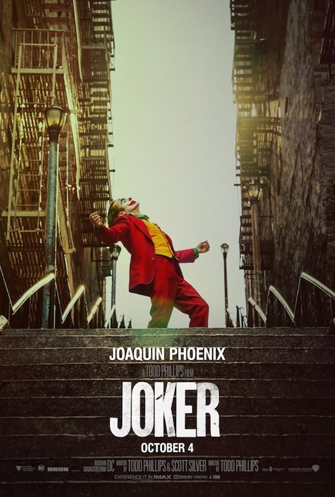 The Joker 2019 Steps Movie Poster 24 X 36 Joker Full Movie