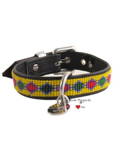 #Collare per Cani in Pelle morbida con applicazioni di Perline Soft Leather Dog Collar with Beads #cmlovepets #cecilemargueritelovepets #cutedogs #dogaccessories #luxurypet #animallovers #puppy #cuccioli #pets #petlovers #petslovers #petslove #petslover #doglove #doglovers #accessoripercani #accessorilussopercani #petsaccessories #petsaccessory #cani #cane #dog #dogs #luxurydogaccessories #modacani #lussopercani #lussocani  #collaripelle #collarepelle #leathercollar  #collaricani…