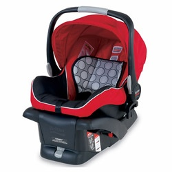 @Overstock - Stroller Compatible Design-Integrated CLICK & GO adapter system works with Britax B- Series strollers  Side Impact Protection distributes crash forces, shields from vehicle intrusion  http://www.overstock.com/Baby/Britax-B-Safe-Infant-Child-Seat-in-Red/6297301/product.html?CID=214117 $149.99