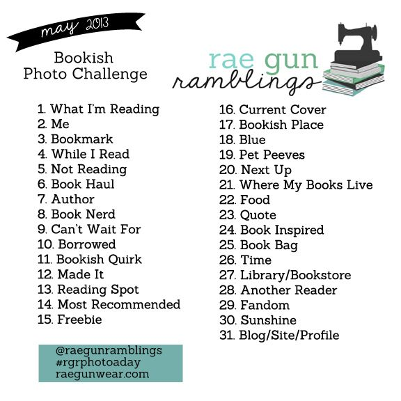 new bookish photo challenge perfect for book nerds and reading fans post pictures to