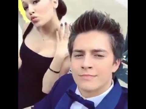Kelli Berglund with Billy Unger and Spencer Boldman in the Lab Rats Bionic Island set! - YouTube