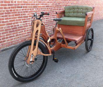 Pedicab - photos.woodbicycle.com