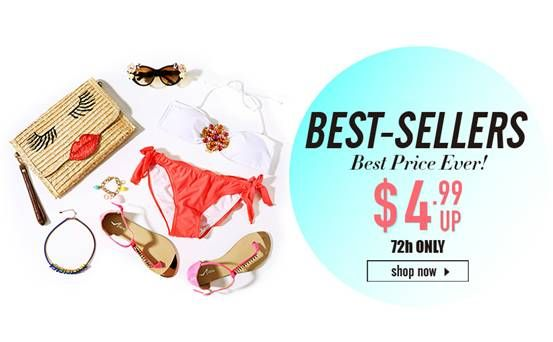 Best Sellers, Best Price Ever! Click Here http://www.romwe.com/flashsale/activeleft?active_id=637?fashionbyruda Starting at: GMT 1:00 pm, 72 hours only 25th July-27th July Free worldwide shipping within 24 hours