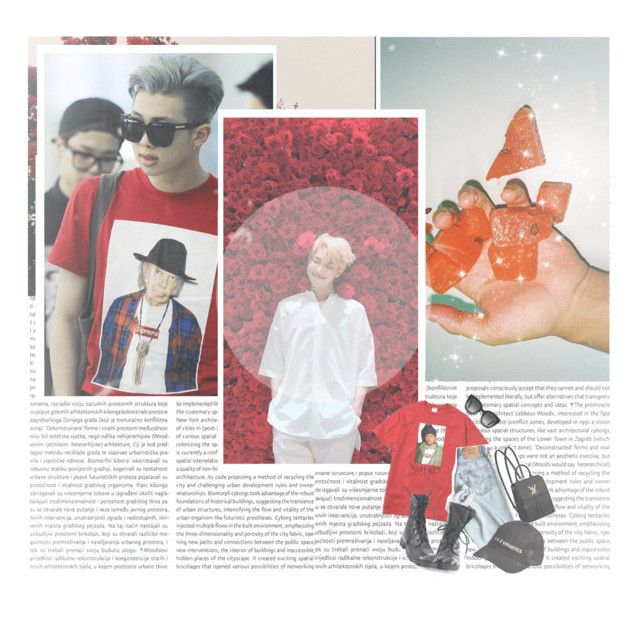 """""""~Rm, red date»"""" by parkeunseo on Polyvore featuring Gucci, Louis Vuitton and Yeezy by Kanye West"""