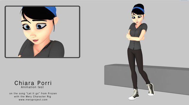 "For my first approach with this great rig ""Mery"" I chose the song ""Let it go"" from Frozen movie. Thanks for watching!  Original Song: ""Let it go"" written by Kristen Anderson-Lopez and Robert Lopez and performed by Idina Menzel Rig: Mery from www.meryproject.com #meryproject #animation #frozen"