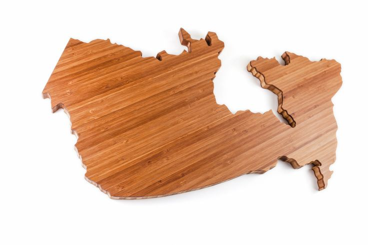 CANADA Cheeseboard & Cutting board Handcrafted & custom made from FSC certified rapidly renewable bamboo Finished with Balmbu our very own blend of nut free oils organic beeswax and bamboo extract Perfect served with local fare
