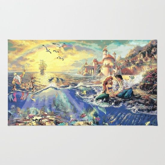 The Little Mermaid - Part Of Your World Rug