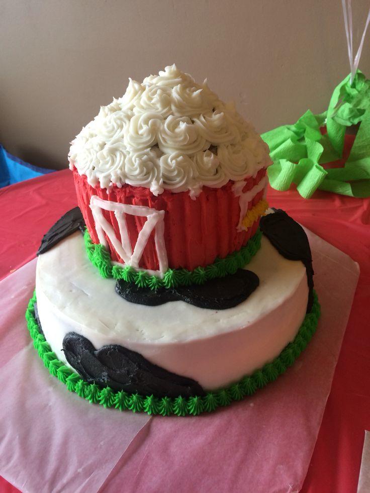 White Chocolate Swirl Cake
