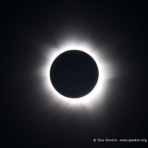 Total Solar Eclipse 2012, Palm Cove, Cairns, Queensland, Australia