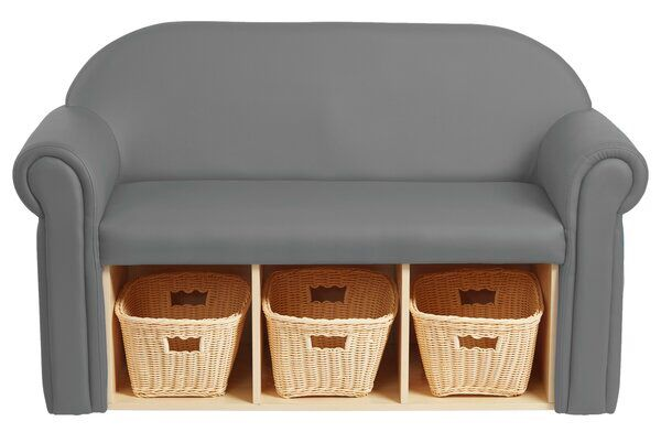 Little Lux Youth Kids Sofa with Storage Compartment | Kids