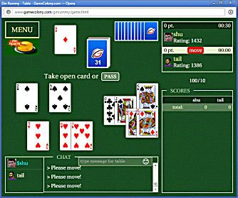 Gin-Rummy card game for all platforms: desktops, iPhone, Android, Windows phone http://www.rubl.com/games/gin-rummy/     #ginrummy #online