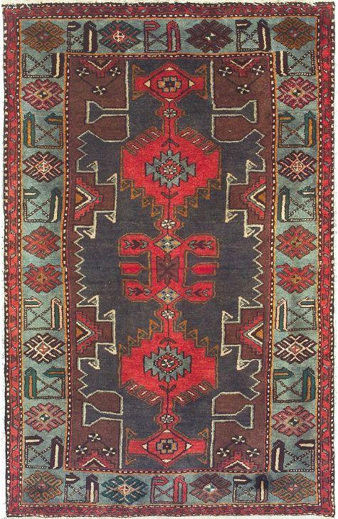 Zanjan Pakistani rug. Wool. Hand Knotted. 109 x 170 http://www.rugman.com/pakistani-zanjan-design-oriental-area-rug-small-size-wool-green-rectangle-351-14778