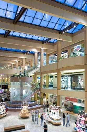Scottsdale Fashion Square, Camelback Rd, Scottsdale, AZ. Anchor stores include  Barney's, Nordstrom, and Neiman Marcus.Boutiques include Bulgari, Jimmy Choo, Gucci --you get the idea.