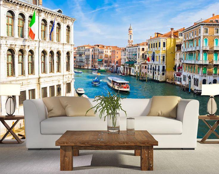 Co powiesz na odrobinę Włoch w Twoim salonie? 🌟🌟🌟🌟🌟🌟🌟🌟 Nasza wskazówka! 👌 Fototapeta będzie idealnie pasować do rustykalnego stylu. Zestaw ją z ciężkim drewnem, gliną i śródziemnomorskimi ziołami.