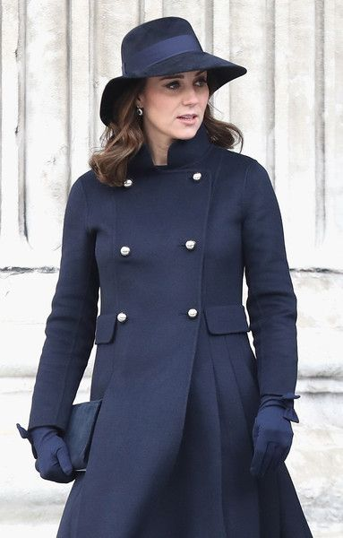 Kate Middleton Photos Photos - Catherine, Duchess of Cambridge, Prince William, Duke of Cambridge and Prince Harry attend the Grenfell Tower National Memorial Service at St Paul's cathedral on December 14, 2017 in London, England. The Royal Family and Prime Minister will join survivors of the Grenfell Tower fire at the memorial at St Paul's Cathedral for the six-month anniversary which killed 71 people. About 1,500 people are expected to attend the multi-faith service. Grenfell Tower...