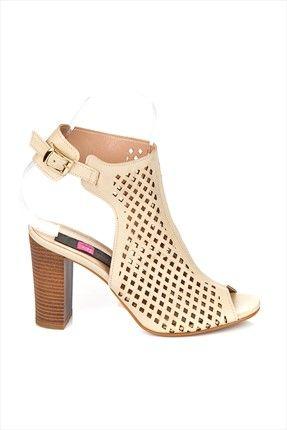 Fox Shoes · Büyük İndirim - Bej Topuklu Ayakkabı 7875811409 %53 indirimle 79,99TL ile Trendyol da