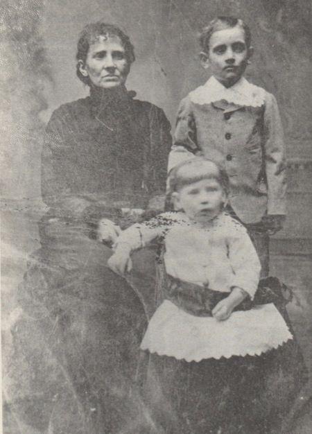 Zerelda James, Jesse E. James and Mary Susan James