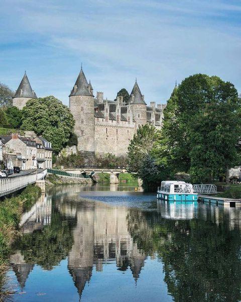 Josselin, Morbihan, Bretagne