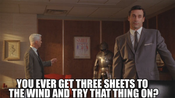 Roger Sterling quote