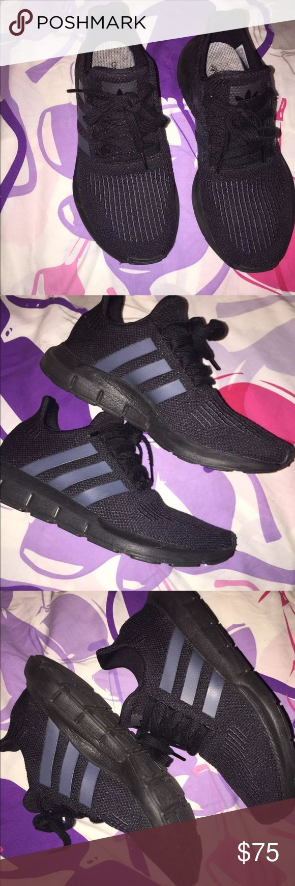 Black Adidas Runners Condition -like new adidas Shoes Sneakers