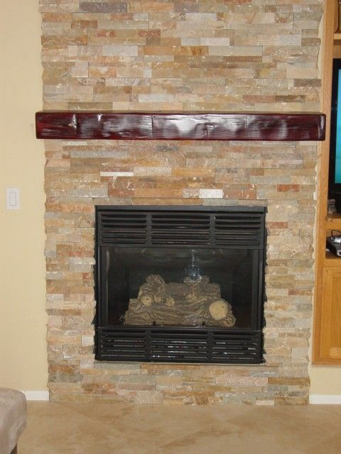 want to be sure to avoid this cheap look horrible mantle and fireplace surround