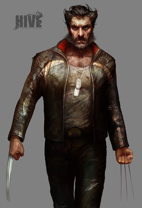 WOLVERINE Character Art