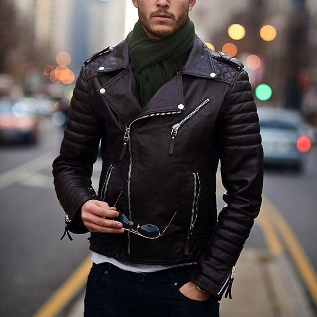 Bodaskins Leather Jacket Men With Style Pinterest