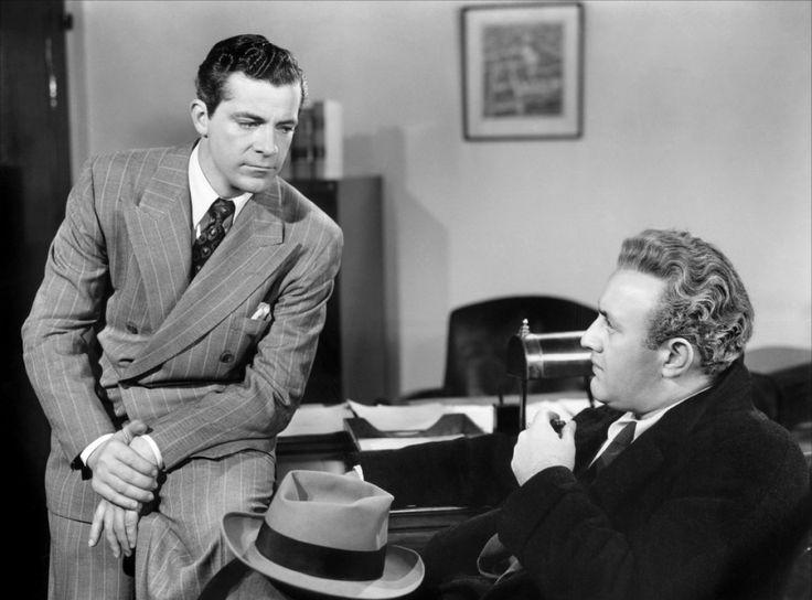 Dana Andrews and Lee J. Cobb - Boomerang! (1947) Film Noir