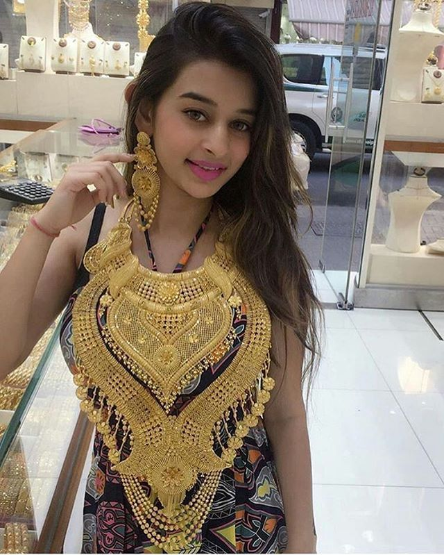 Yay  or Nay  for the Gold necklace? Follow  @BollywoodStyle for more.