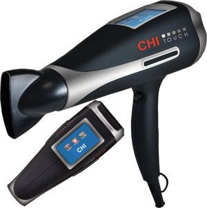 Chi Touch blow dryer with a lightweight and ergonomic design.