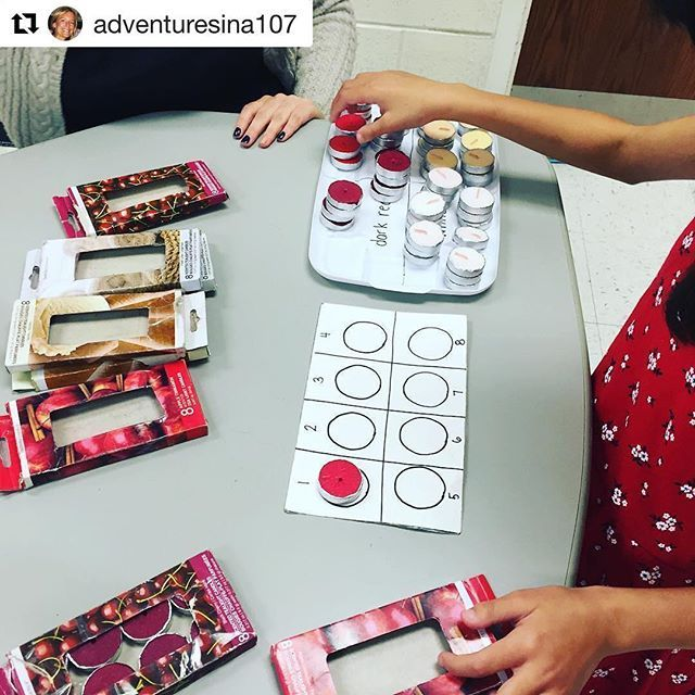 Love this amazing packaging task from @adventuresina107 for work baskets!! . . . #Iteachsped #sped #weteachsped #autismclassroomresources #autismteacher #spedtribe #specialeducation #teachersofinsta #specialed #specialeducationteacher