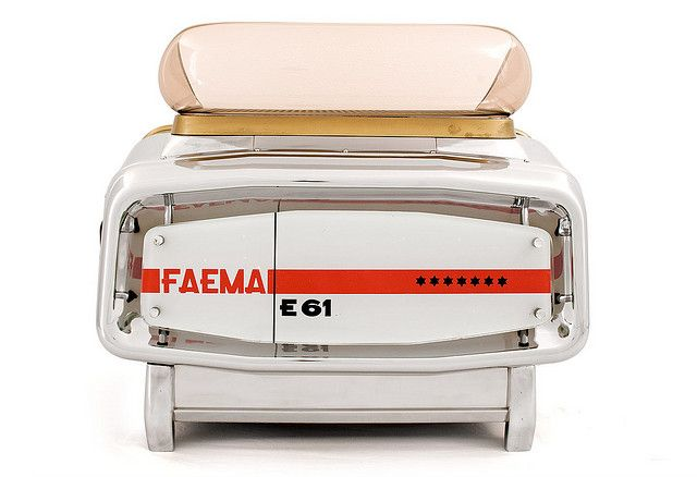 49th Parallel's Vintage/Original Faema E61 Espresso Machine | Flickr - Photo Sharing!