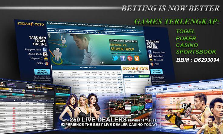 www,zodiaktoto,com  'Better Is Now Better' @zodiaktoto Agen betting online dengan promo yang super menarik, di sini kita juga dapat bermain banyak game : - Togel - Casino - Poker - Bola  Pilih game anda dan mainkan di www,zodiaktoto,com  Contact WHATSAPP : +855962339447 BBM : D6293094 LINE : zodiaktoto Live Chat : ZODIAKTOTO