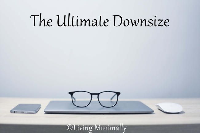 The ultimate downsize is here. We are moving www.livingminimally.com.au