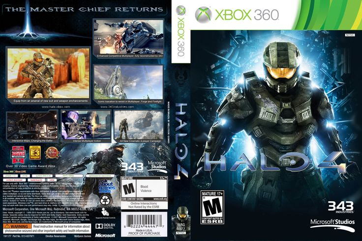 XBox 360 - Halo 4 | Videogames That I\u0026#39;ve Owned | Pinterest | Xbox
