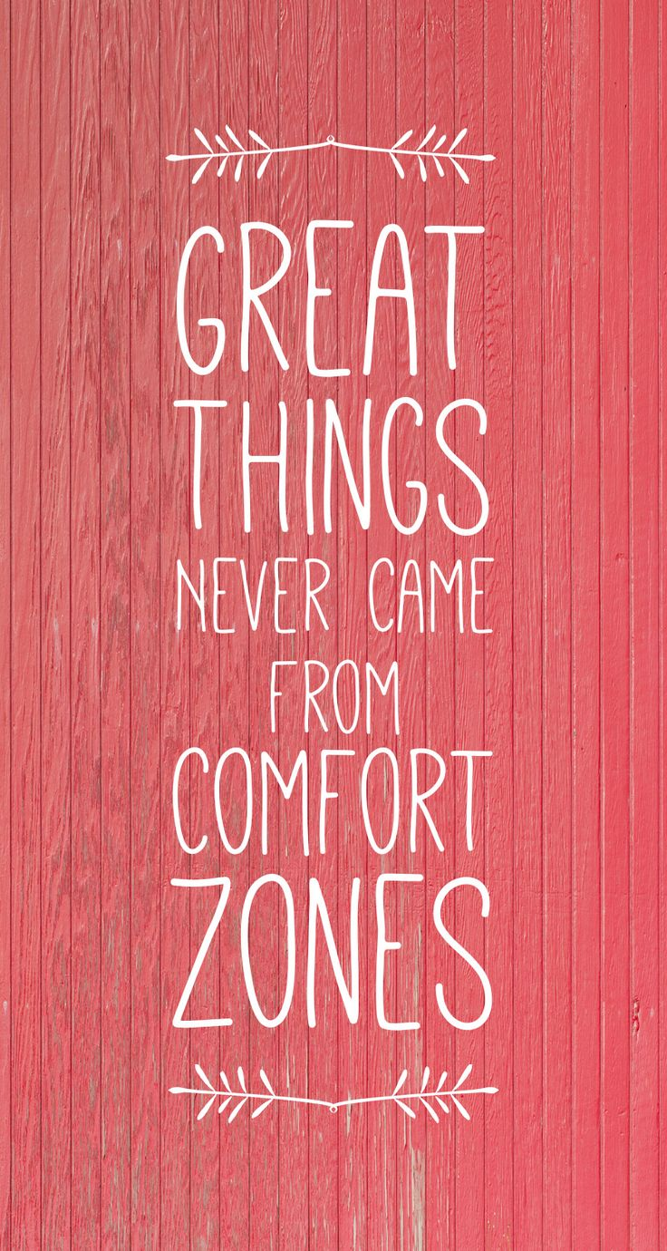 iPhone 6 wallpaper (sized to be used with parallax) Make this year the year you step outside your comfort zone and do great things!  agbountiful.com