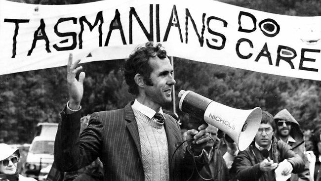 Bob Brown is a former Australian political party leader. He is a hero because he was the first openly gay politician in Australian politics, he saved Tasmania's forests and he stands up for asylum seeker's rights.